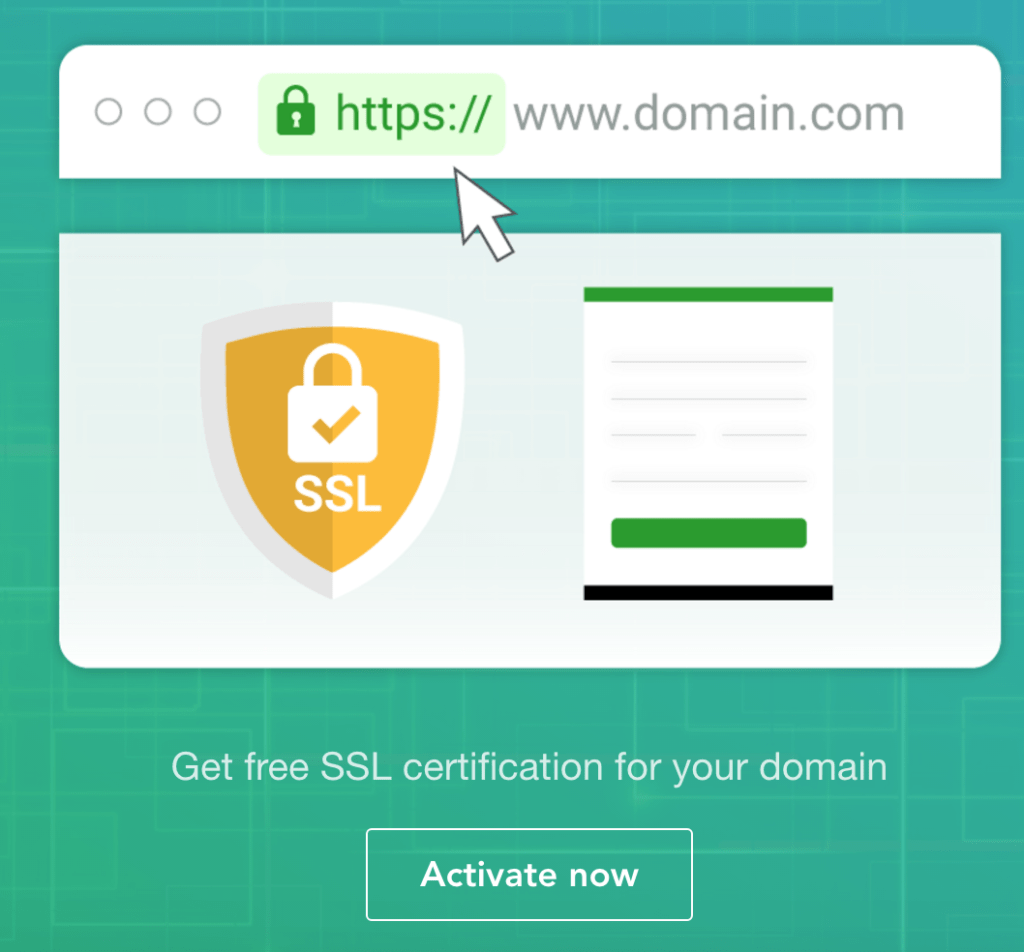 SSL certificate activation