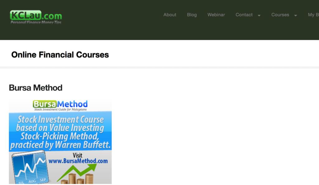 KCLau.com online courses