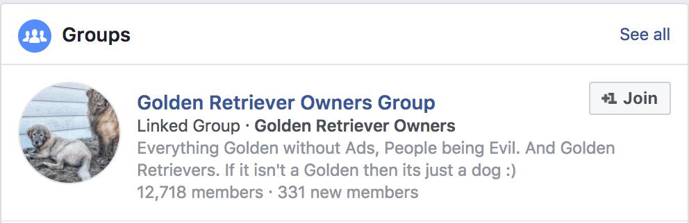Golden Retriever Owners